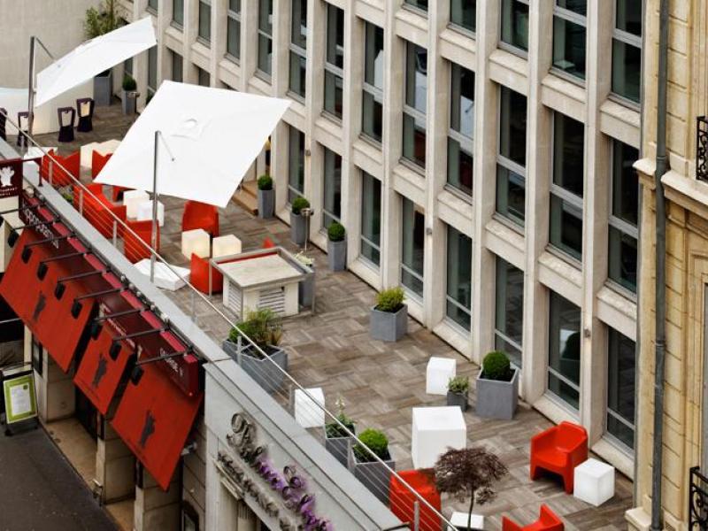Louer un bureau avec terrasse à Paris