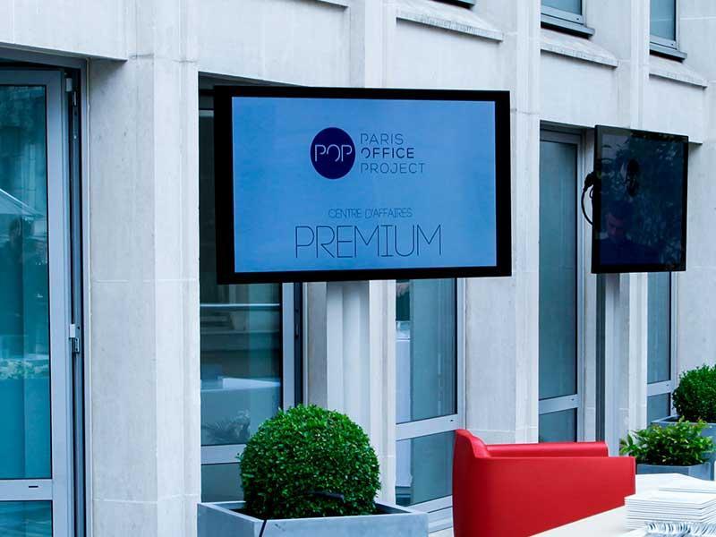 Travailler dans un centre d'affaires à Paris